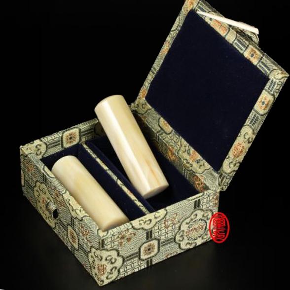雙章印章盒-錦盒