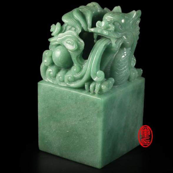 玉璽宮廟印章-東菱玉 (龍)