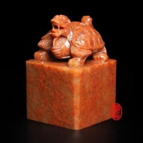 玉璽宮廟印章-5-浙江石(龍龜)