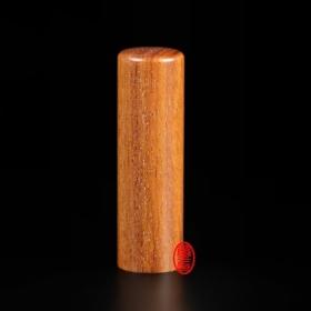 紅紫檀木開運印章