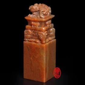 禮品印章-8-浙江石 (四羊方尊)